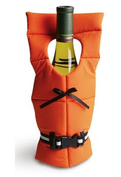 A floatation device for your wine bottles.  I need one of these for the kayak.  ;)