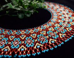 Collar de perlas collar joyería del collar de por NakaHandMadeShop