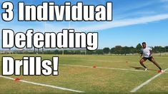 Here are 3 defending drills you can do individually! Defensive Soccer Drills, Football Training Drills, Soccer Drills For Kids, Soccer Practice, Soccer Skills, Soccer Motivation, Soccer Workouts, Soccer Coaching, Holidays And Events