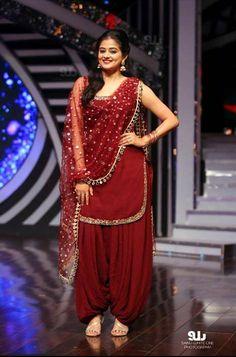 Priyamani in indian style brown coloured churidar. #bridals #PRANAAH