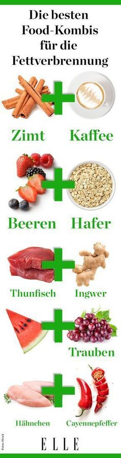 Food combinations that burn fat faster - Essen und trinken - Nutrition Healthy Foods To Eat, Healthy Life, Healthy Eating, Healthy Recipes, Diet And Nutrition, Food Combining, Fat Burning Drinks, Le Diner, Fat Loss Diet