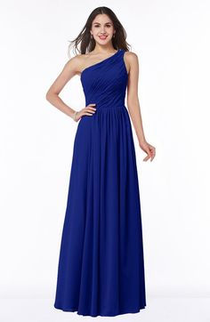 Blue Cobalt Primrose Bridesmaid Dress http://www.weddingheart.co ...