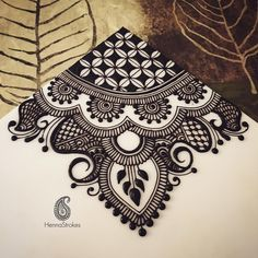ideas for nature mandalas drawing zentangle Henna Designs On Paper, Bridal Henna Designs, Unique Mehndi Designs, Beautiful Henna Designs, Henna Tattoo Designs, Mehandi Designs, Henna Patterns, Zentangle Patterns, Zentangles