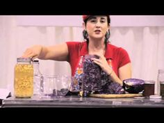 RFD at the Green Festival 2011.mov  Purple Garlic Kraut with the Real Food Devotee Monica Ford #lactofermentation #sauerkraut #realfood