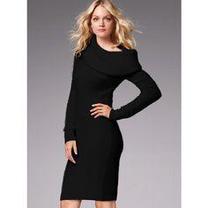 Victoria's Secret Multi-Way Sweaterdress ($78) via Polyvore