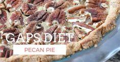 GAPS Diet Pecan Pie - Powered by @ultimaterecipe