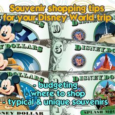 Disney Souvenirs - Tips on where to shop & what to buy