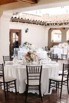 Beautiful tables: http://www.stylemepretty.com/2015/03/24/romantic-pastel-santa-barbara-wedding/ | Photography: Melanie Duerkopp - http://melanieduerkopp.com/