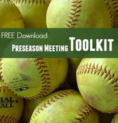 87 best coaching images on pinterest coaching fastpitch softball youth softball coach earn support from parents with a preseason meeting free toolkit fandeluxe Choice Image