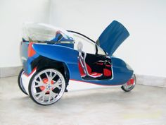 Chebran has released plans for tilting 3-wheel EV with a top speed of 150mph.