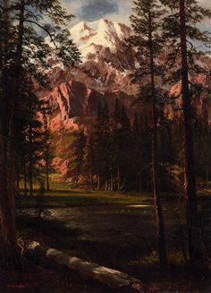 Albert Bierstadt Mountain Lake painting in my site, painting Authorized official website Lake Painting, Oil Painting Abstract, Mountain Paintings, Nature Paintings, Oil Paintings, Albert Bierstadt Paintings, Hudson River School, Lake Art, Manet