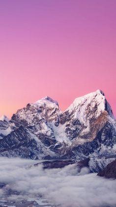 Himalaya sunset mountain #iphone #wallpaper