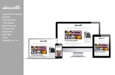Check out Danielle - blog wordpress theme by wpcreativos on Creative Market
