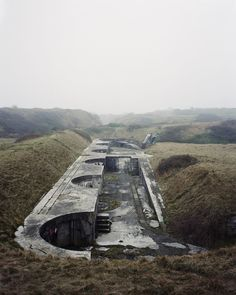 Portland, Dorset, England (2011) | From World War I to the Rave Scene: Britain's Forgotten Wartime Structures | VICE UK | Photographer Marc Wilson spent six years visiting 143 of these locations for his book, The Last Stand, which was released late last year.