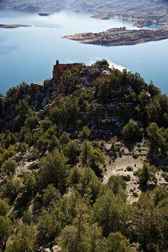 Lake Bin el Ouidane, Morocco