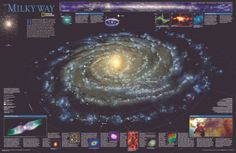 National Geographic The Milky Way Posters at AllPosters.com  16.99