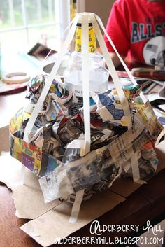 how to make paper mache at home