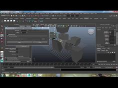 Creating Rock Pieces Easily from any Poly Mesh in Maya - YouTube