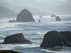 Ecola State Park, OR - I would never tire of the view.  This park is heaven.