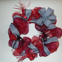 Alabama Crimson Tide Football  Christmas by AnnieMariesCreations, $40.00