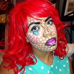 Pop Art Makeup!