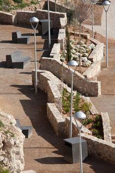 Jardín Público en La Chanca, Almería, Spain by Luis Castillo and Mercedes Miras