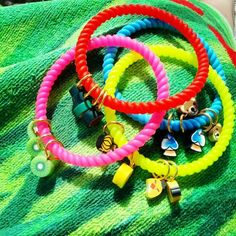 Summer Silicone Bracelets Silicone Bracelets, Summer, Jewelry, Summer Time, Jewlery, Bijoux, Schmuck, Jewerly, Jewels
