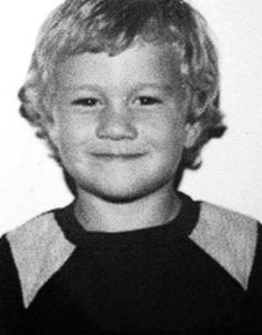 Heath Ledger as a kid. <3