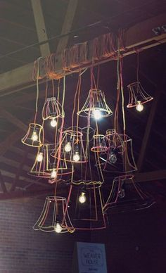 green wedding venues, lovely lighting, retro lamps, rustic wedding, simple lighting