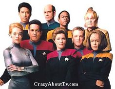 Star Trek Voyager <-- my all-time favorite TV show. I miss it so!