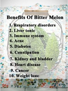 10 Amazing Benefits Of Bitter Melon/Bitter Gourd