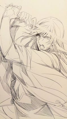 刀剣乱舞 touken ranbu Izuminokami Kanesada Manga Drawing, Manga Art, Drawing Sketches, Art Drawings, Hipster Drawings, Drawing Faces, Drawing Tips, Pencil Drawings, Relife Anime