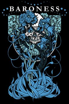 Baroness tour poster.