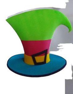 gorros locos de goma eva - Buscar con Google Sombreros De Goma Eva 43bd007cf7a
