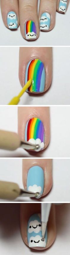 pretty cool nail art design