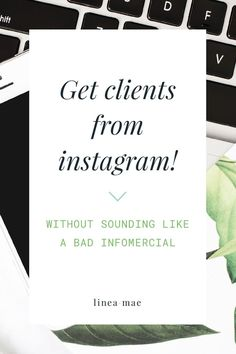Getting clients from instagram is hard, right? Wrong! If you're looking to find clients on instagram and turn your followers into buyers then you need an instagram advertising plan. But forget the tradition thought of paying for ads and using bots. Today I'm covering 3 simple things you can do daily when using instagram for your business. It doesn't have to be a pain, but it does have to be consistent. Building trust with your audience is key, and this is how you can start doing it right…