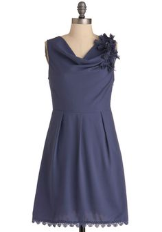 Joined at the Rose Hip Dress in Violets, #ModCloth  *bridesmaid dress material?