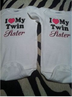 Hey, I found this really awesome Etsy listing at http://www.etsy.com/listing/166710764/i-love-my-twin-sister-2-girls-twins-set