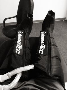 Normatec recovery boots are excellent for post runs or triathlon events