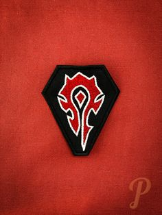 For The Horde, Different Colors, Adhesive, Badge, Patches, It Is Finished, Ornaments, Sewing, Etsy