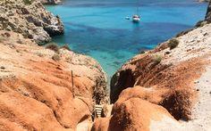 Traumstrand Tsigrado auf Milos, Griechenland @ Marlene Haider / Restplatzboerse.at Paros, Hotels, Strand, Greece, Water, Outdoor, Travel Advice, World, Vacation