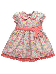 e1fe4ae65c1e Ladybird Girls Ditsy Floral Print Dress