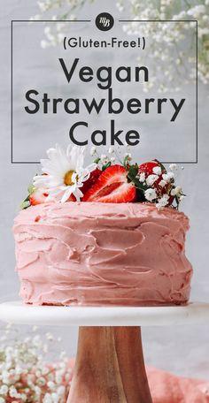 Baker Recipes, Vegan Dessert Recipes, Vegan Sweets, Gluten Free Desserts, Vegan Gluten Free, Best Vegan Cake Recipe, Gf Cake Recipe, Dairy Free, Best Vegan Desserts