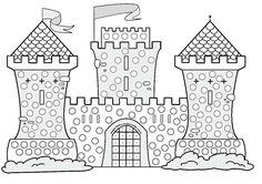 Chateau Moyen Age, Scottish Castles, Kirigami, Fine Motor Skills, Word Art, Coloring Pages, Fairy Tales, Mandala, Doodles