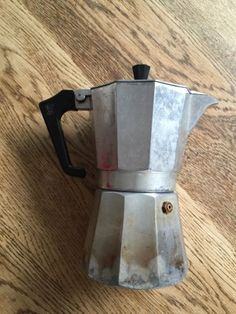 #Pezzetti stove top coffee maker, aluminium, #makes 6 cups of #espresso coffee,  View more on the LINK: http://www.zeppy.io/product/gb/2/381552085849/