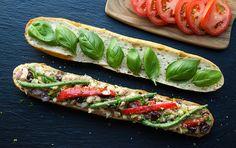 Pan Bagnat (White Bean Niçoise Salad Sandwich) - The Simple Veganista