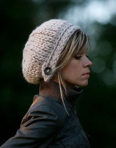 Knit Your Way to Warmth in These 11 Winter Hats via Brit + Co.