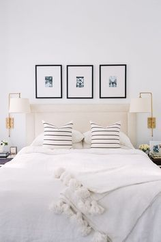10 Interior Design Suggestions for Small Bedroom Decoration – Bedroom Decor ideas - Bedroom Decor ideas Bedroom Inspo, Home Decor Bedroom, Master Bedroom, Bedroom Ideas, Bedroom Black, Airy Bedroom, Minimal Bedroom, Wall Sconce Bedroom, 50s Bedroom