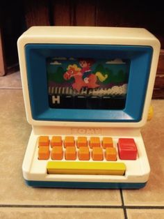 #Vintage #classic 1980's tomy #computer educational toy,  View more on the LINK: http://www.zeppy.io/product/gb/2/301835095400/