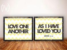 Bible Verse printable scripture print art wall by PrintableWisdom